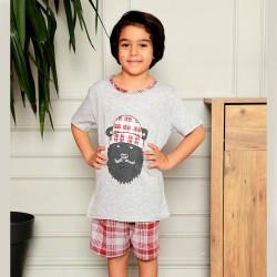 Piżama chłopięca z nadrukiem 134 do 164